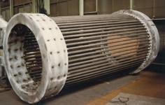 Cage type metallic heat exchanger